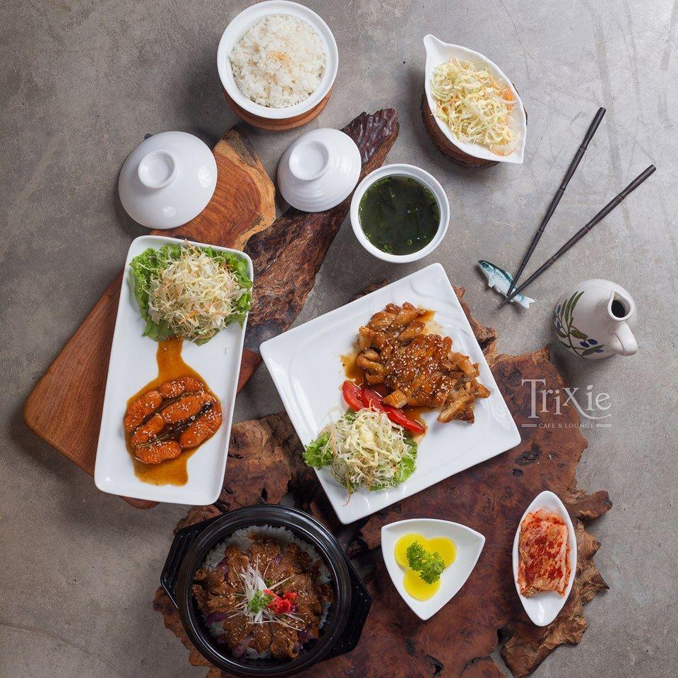 Dân công sở nhất định không được bỏ lỡ cơm trưa văn phòng tại Trixie Cafe 165 Thái Hà