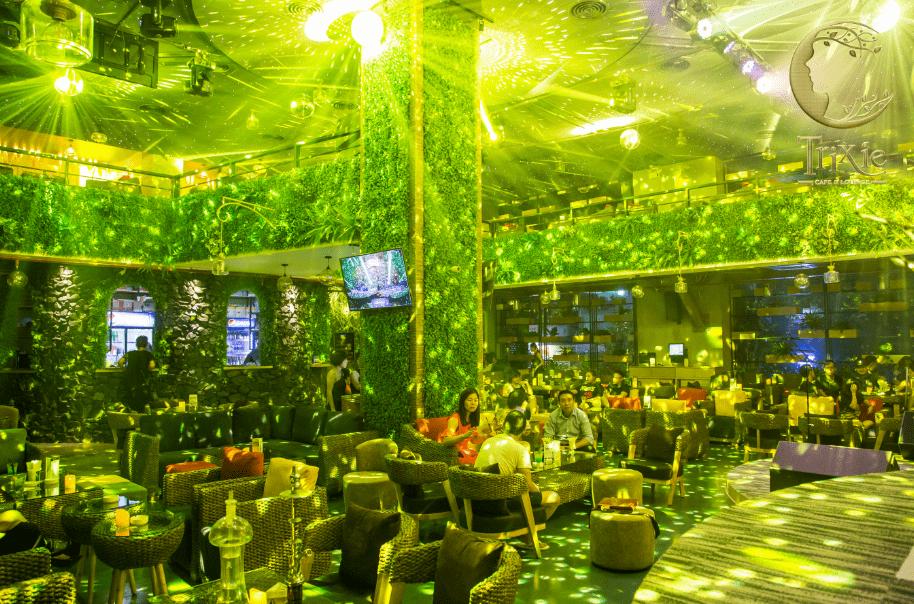Trixie quán cafe sang trọng đẹp bậc nhất ở Hà Nội