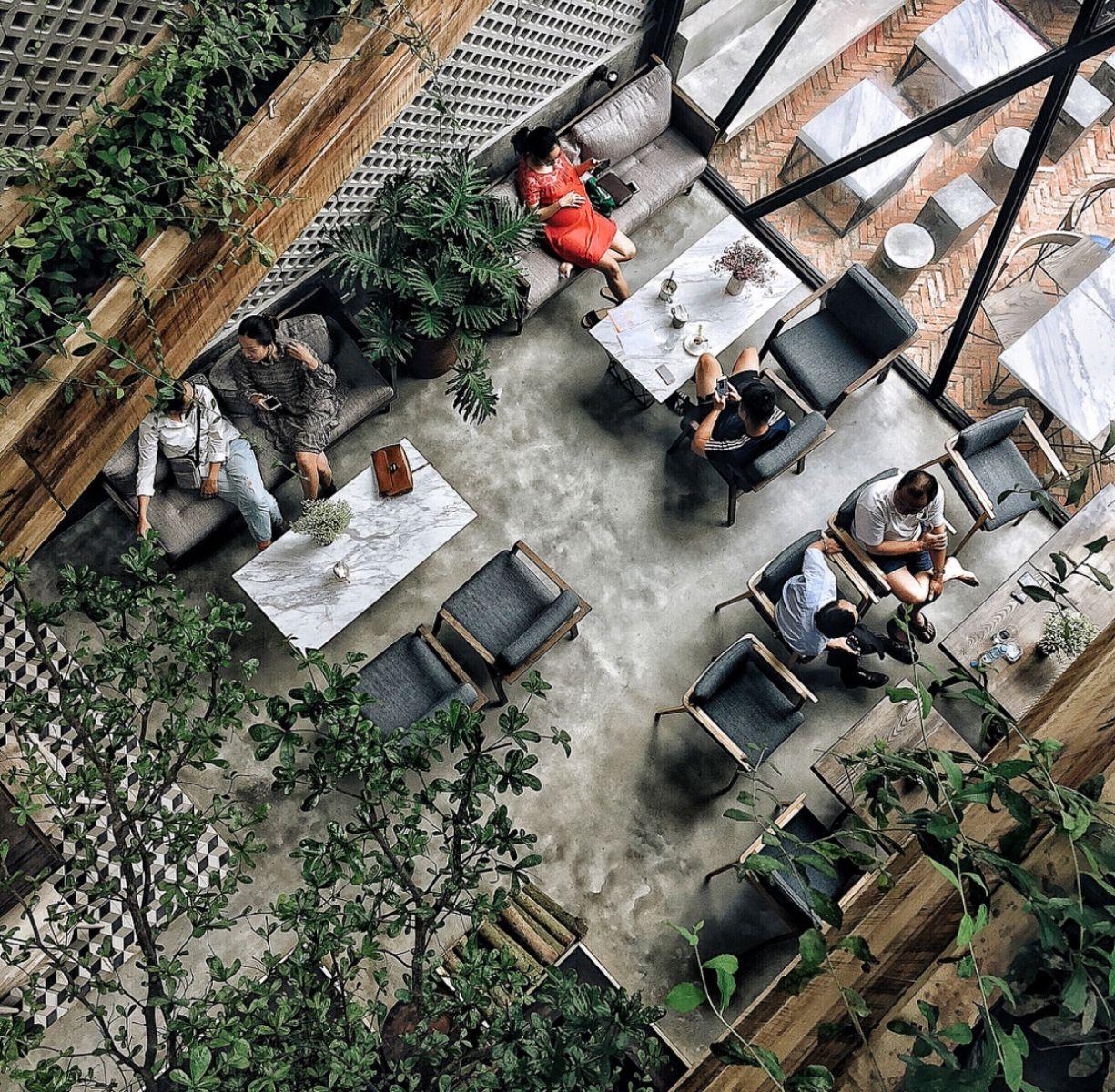 Cafe xanh Hà Nội AN' Garden Cafe