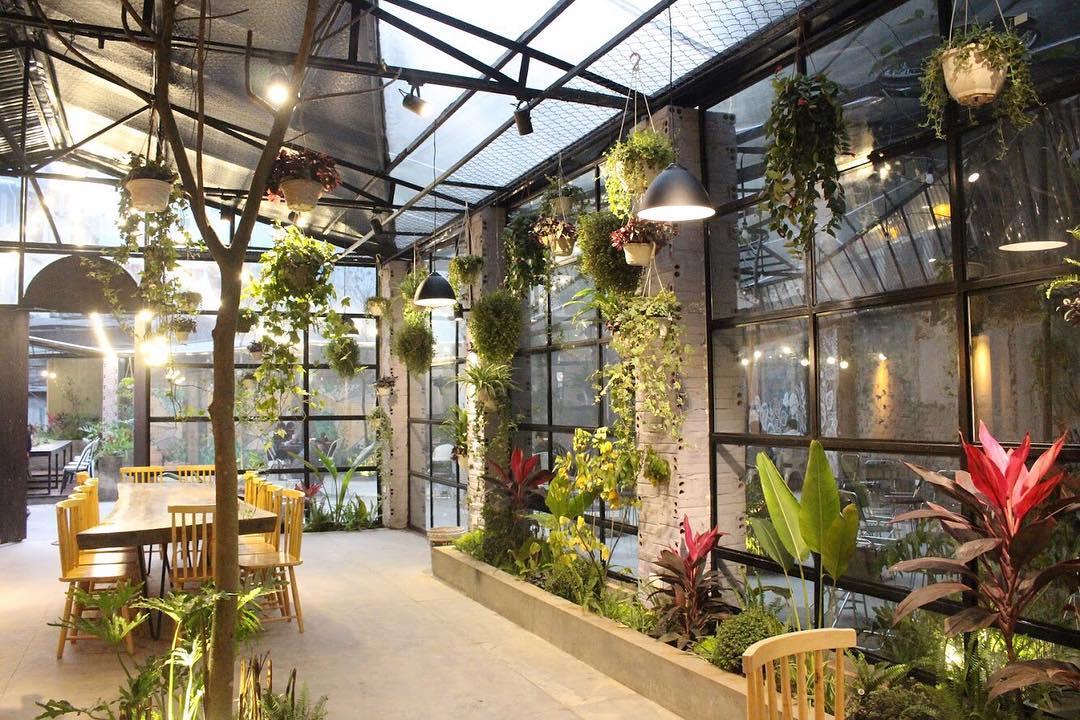Quán cafe yên tĩnh Đống Đa Gardenista