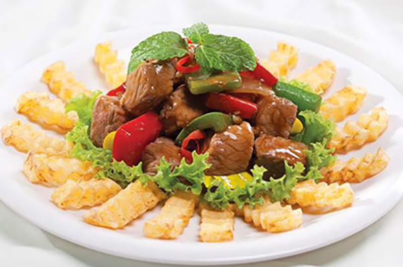 Công thức chế biến thịt cừu lúc lắc khoai tây ngon hoàn hảo