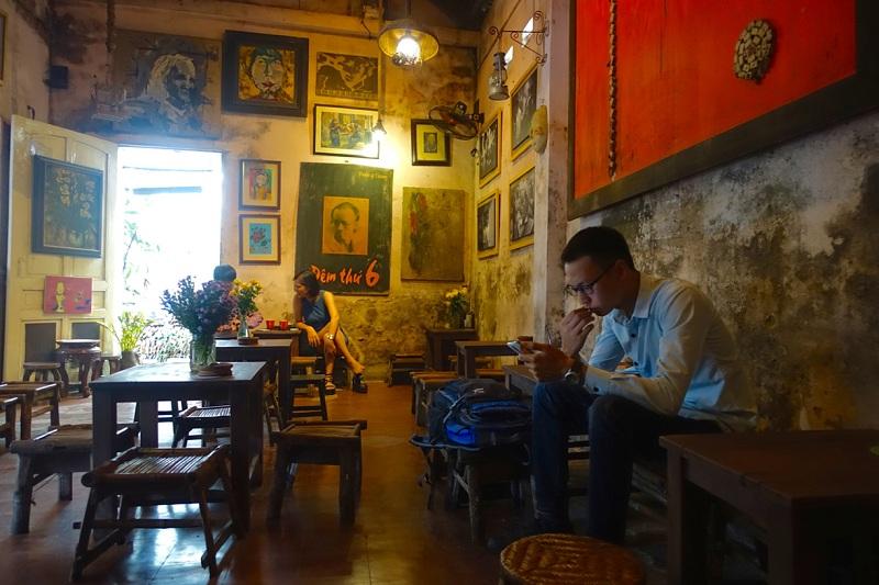 Quán cafe ngon ở Hà Nội Cuối Ngõ