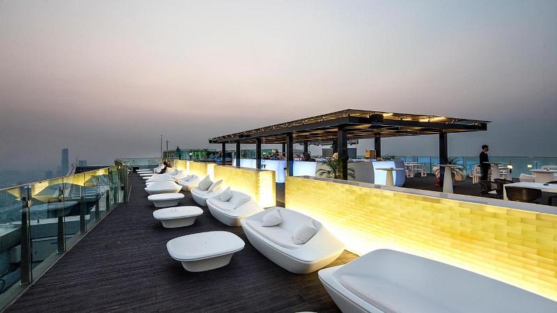 Quán cafe đẹp ở Hà Nội có không gian riêng Top of Hanoi