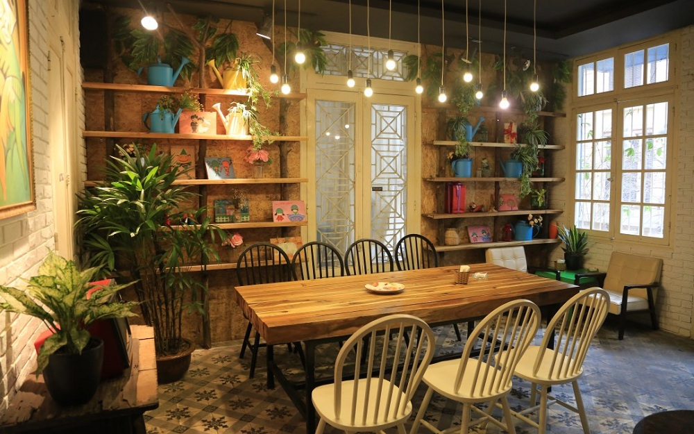 Quán cafe dành cho người độc thân Hoa 10 Giờ
