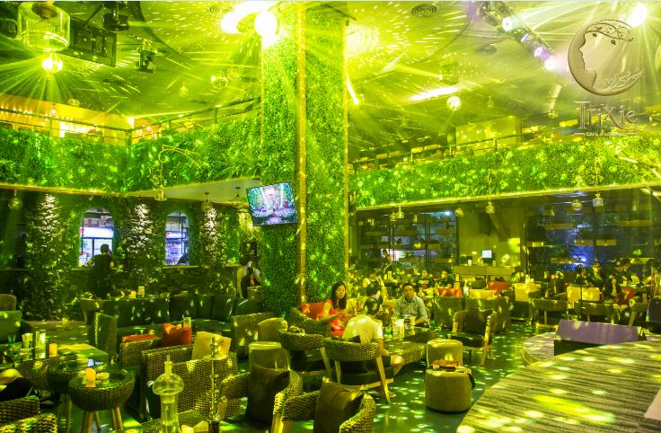 Quán cafe sân vườn kiểu mẫu đẹp độc đáo ở Hà Nội