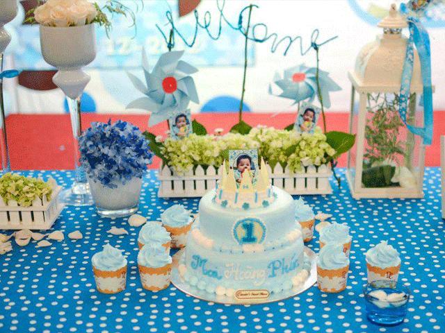 Đặt tiệc sinh nhật theo ý mẹ