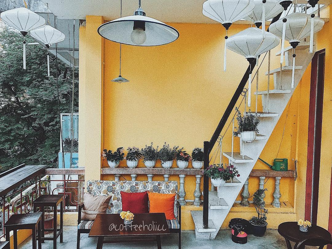 Các quán cafe đẹp ở Hà Nội để chụp ảnh A Little Hoian