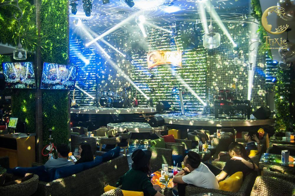 không gian xanh trixie - phòng trà nổi tiếng nhất hà nội