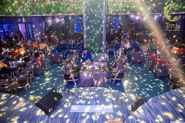 không gian âm nhạc tại trixie