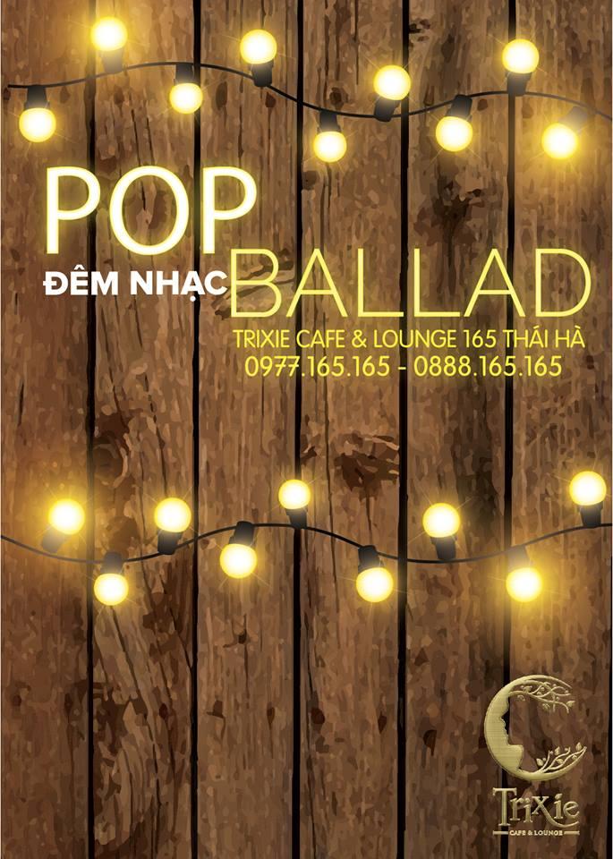 ĐÊM NHẠC POP BALLAD