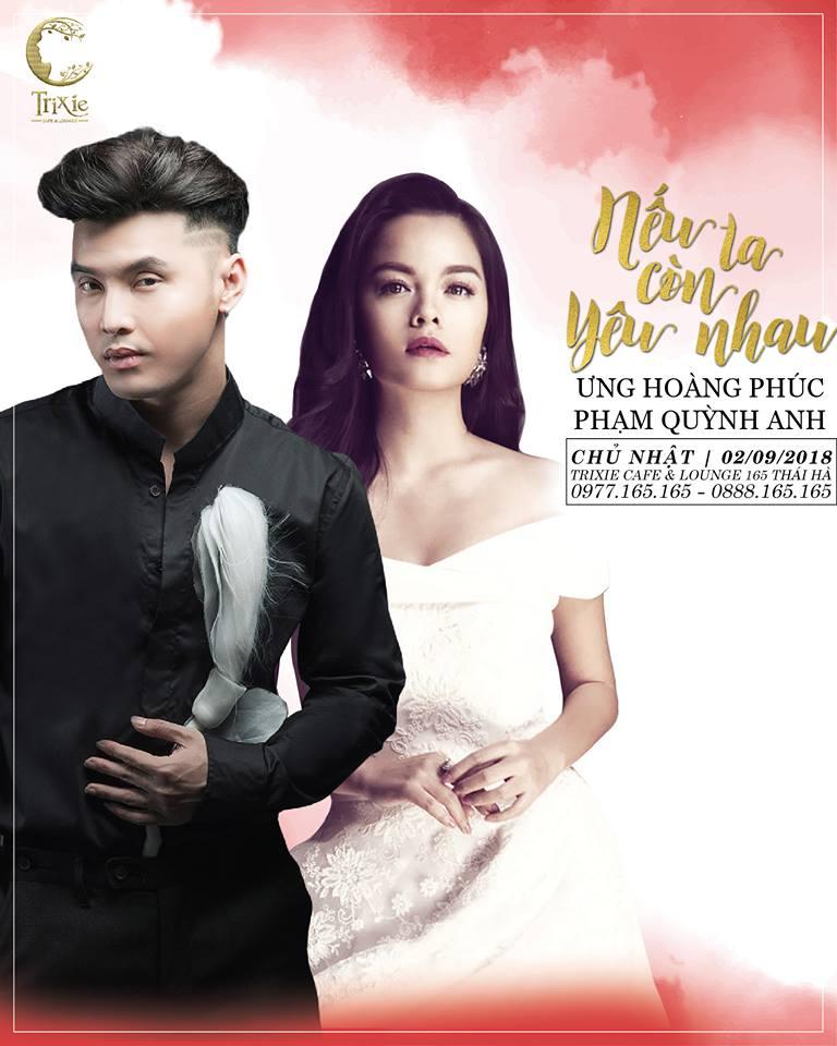 MiniShow ƯNG HOÀNG PHÚC & PHẠM QUỲNH ANH 02-09-2018