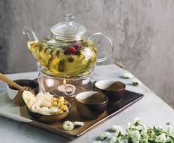 Trà đào mộc vị ( Tea Pot )