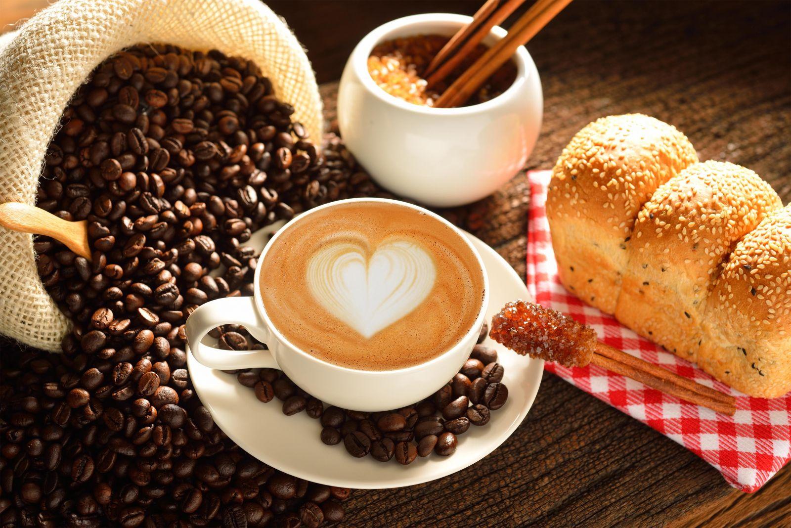 latte thơm ngon, béo ngậy