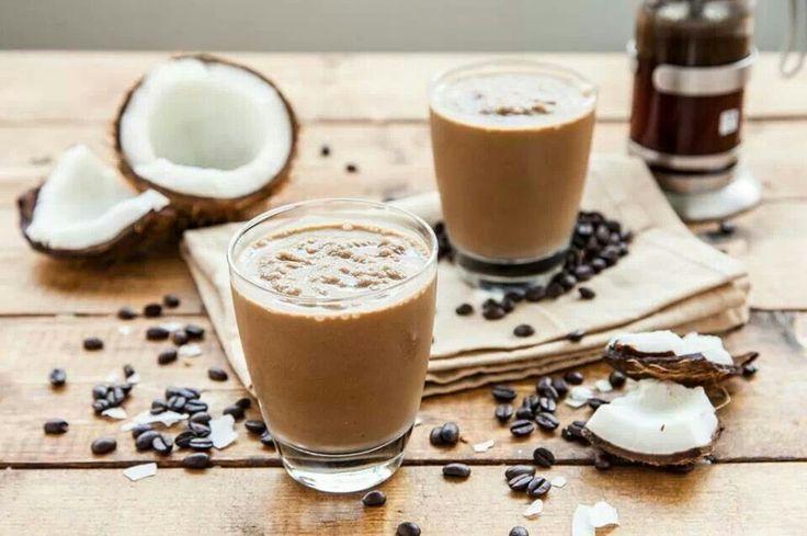 Cà phê cốt dừa hấp dẫn tại Trixie