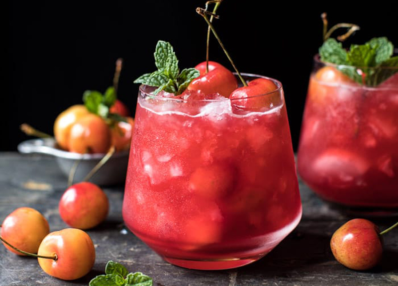 Boozy Bourbon Cherries