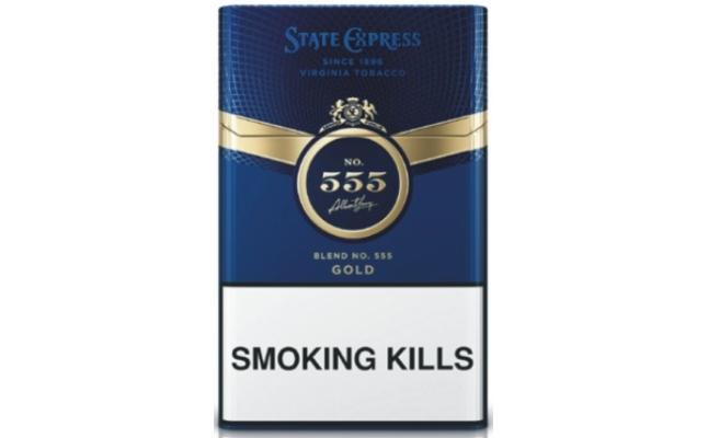 Thuốc lá 555 xanh