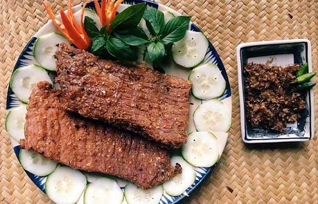 Bò một nắng kiểu Thái