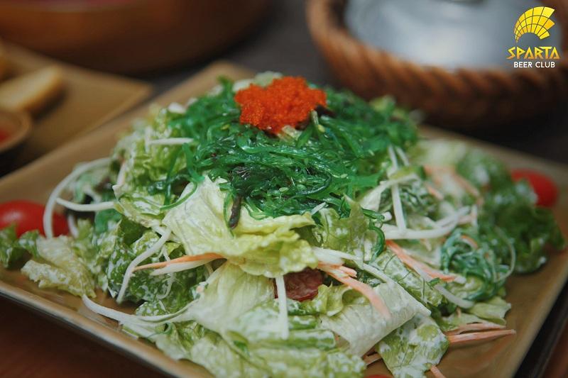 Salad rong biển tươi