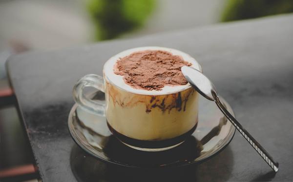 sữa chua cafe