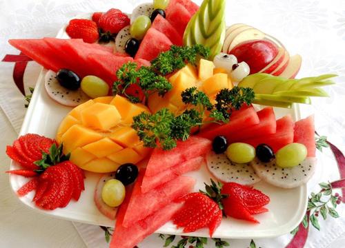 Đĩa hoa quả tổng hợp