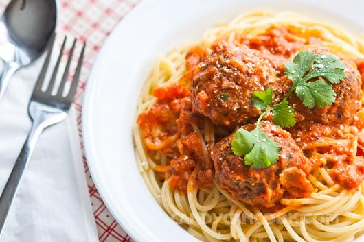 Mỳ Ý hải sản sốt bò băm